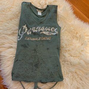 Parasuco sexy open back shirt